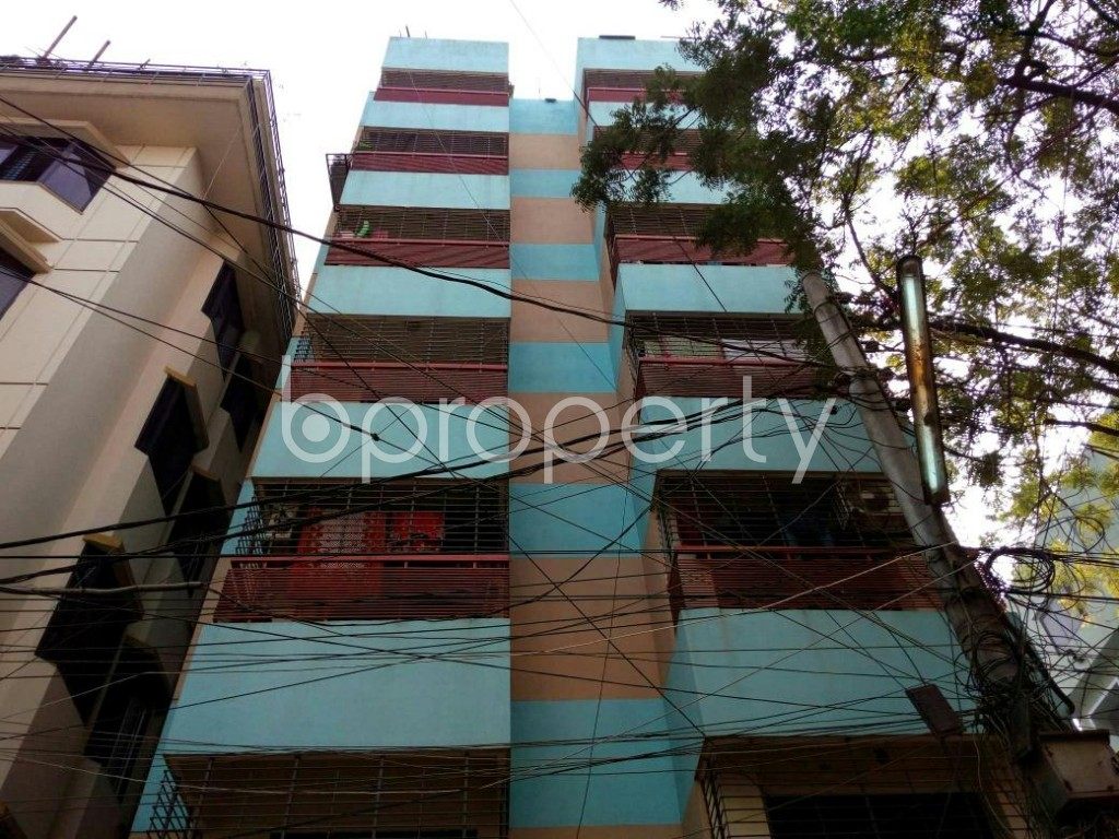 Front view - 3 Bed Apartment for Sale in Mohammadpur, Dhaka - 1854423