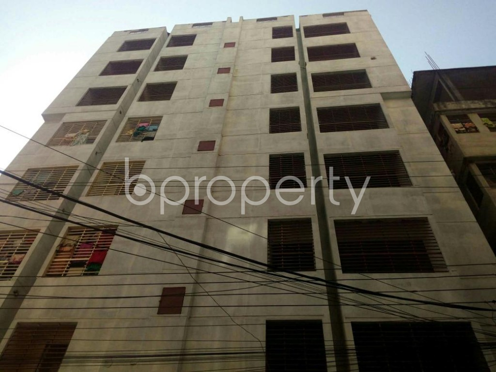 Front view - 3 Bed Apartment for Sale in Uttar Lalkhan, Chattogram - 1854891