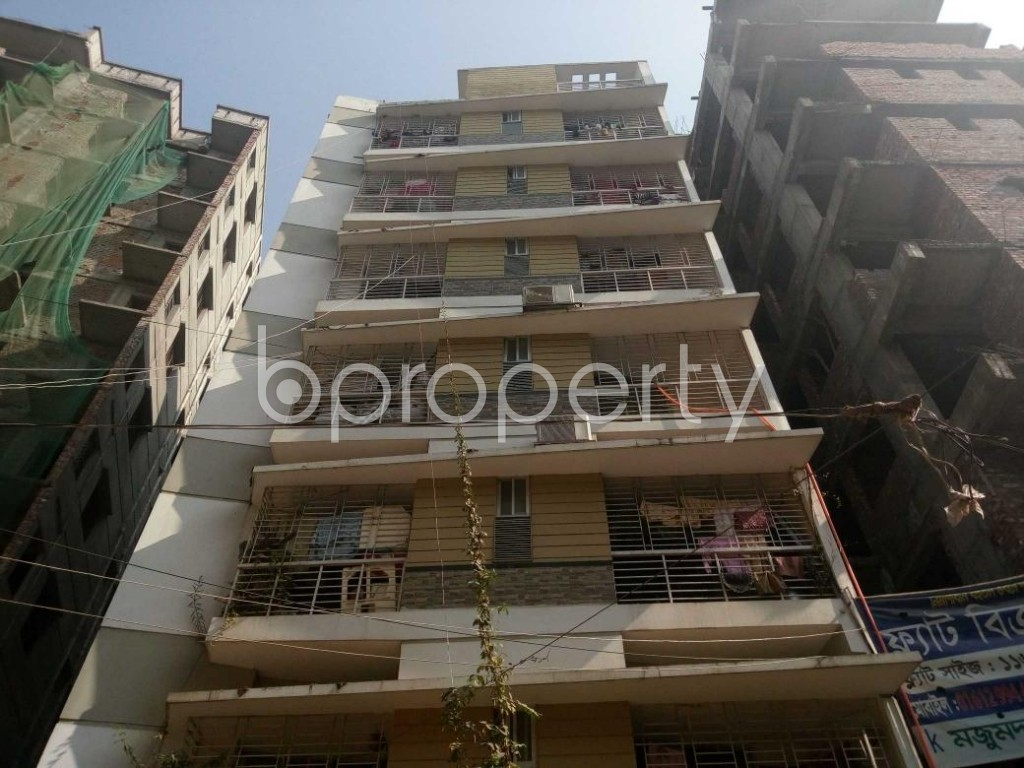 Front view - 3 Bed Apartment for Sale in Ibrahimpur, Dhaka - 1854984