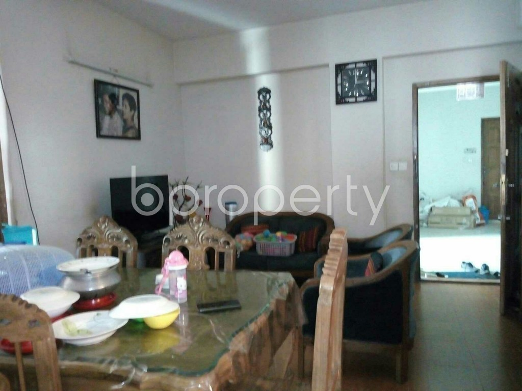 Dining area - 3 Bed Apartment for Sale in Dhanmondi, Dhaka - 1855558