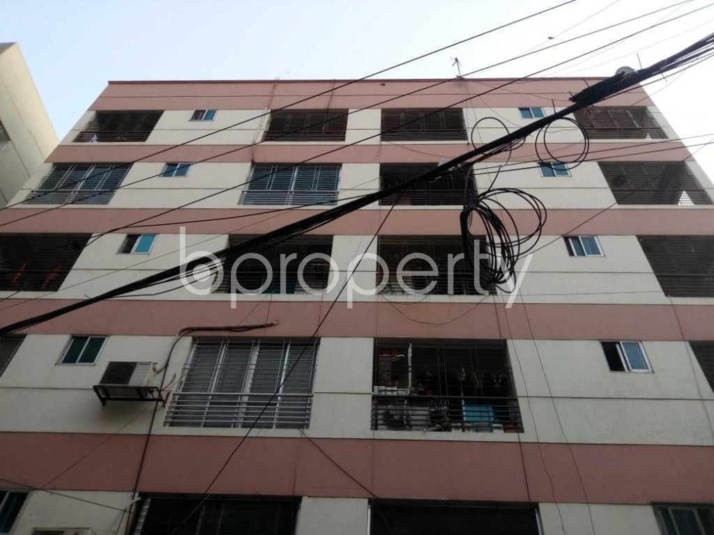 Front view - 3 Bed Apartment for Sale in Gulshan, Dhaka - 1855634