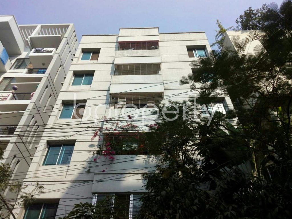 Front view - 3 Bed Apartment for Sale in Bashundhara R-A, Dhaka - 1855715