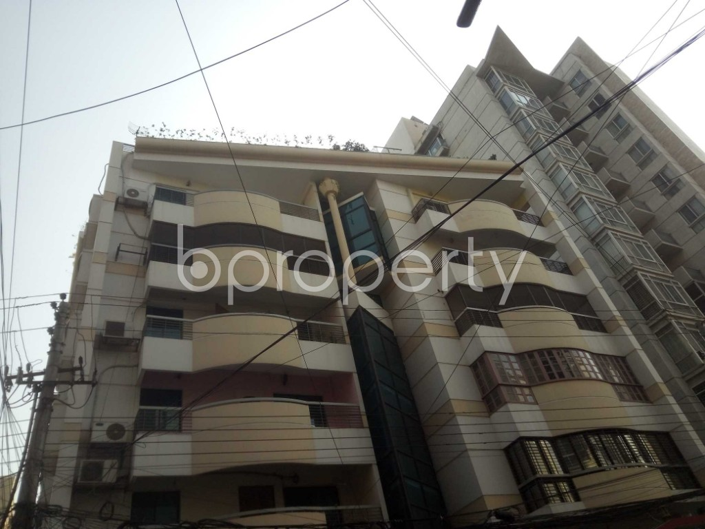 Outside view - 4 Bed Apartment to Rent in Baridhara, Dhaka - 1856160