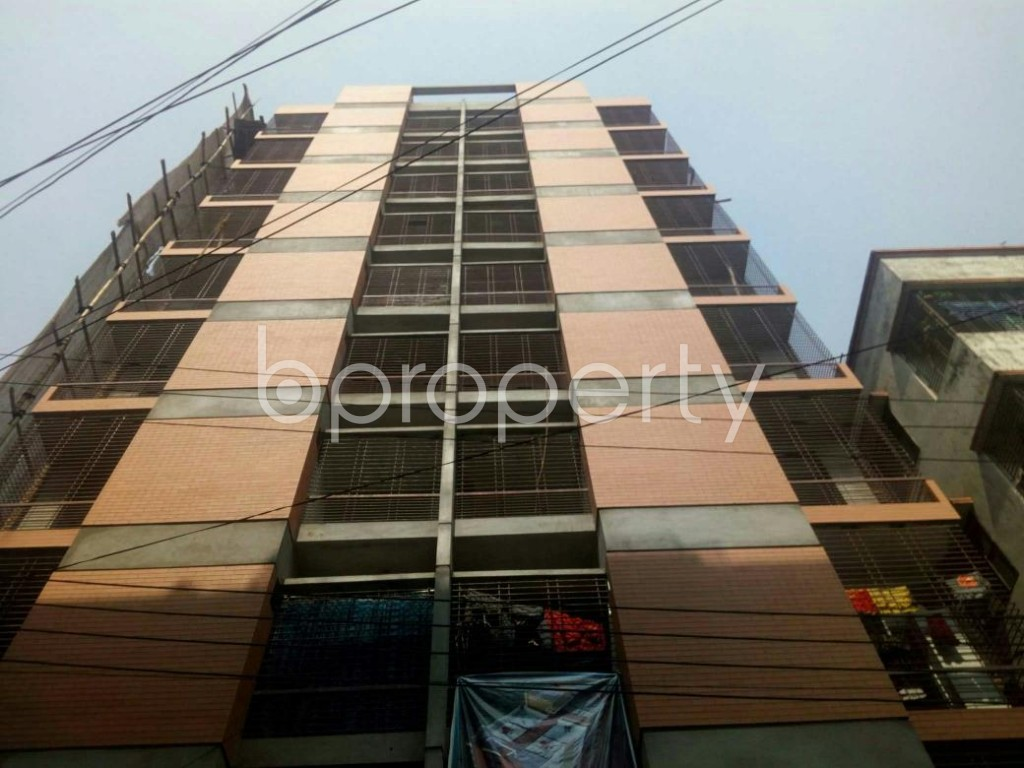 Front view - 3 Bed Apartment for Sale in Mirpur, Dhaka - 1856235