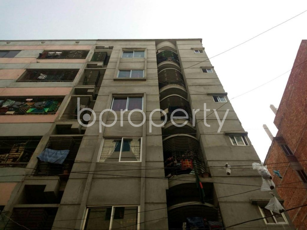 Front view - 2 Bed Apartment for Sale in Mirpur, Dhaka - 1856517