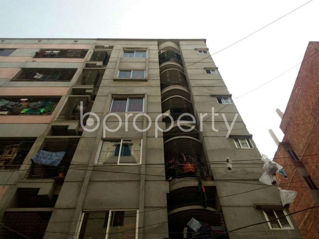 Front view - 2 Bed Apartment for Sale in Mirpur, Dhaka - 1856518