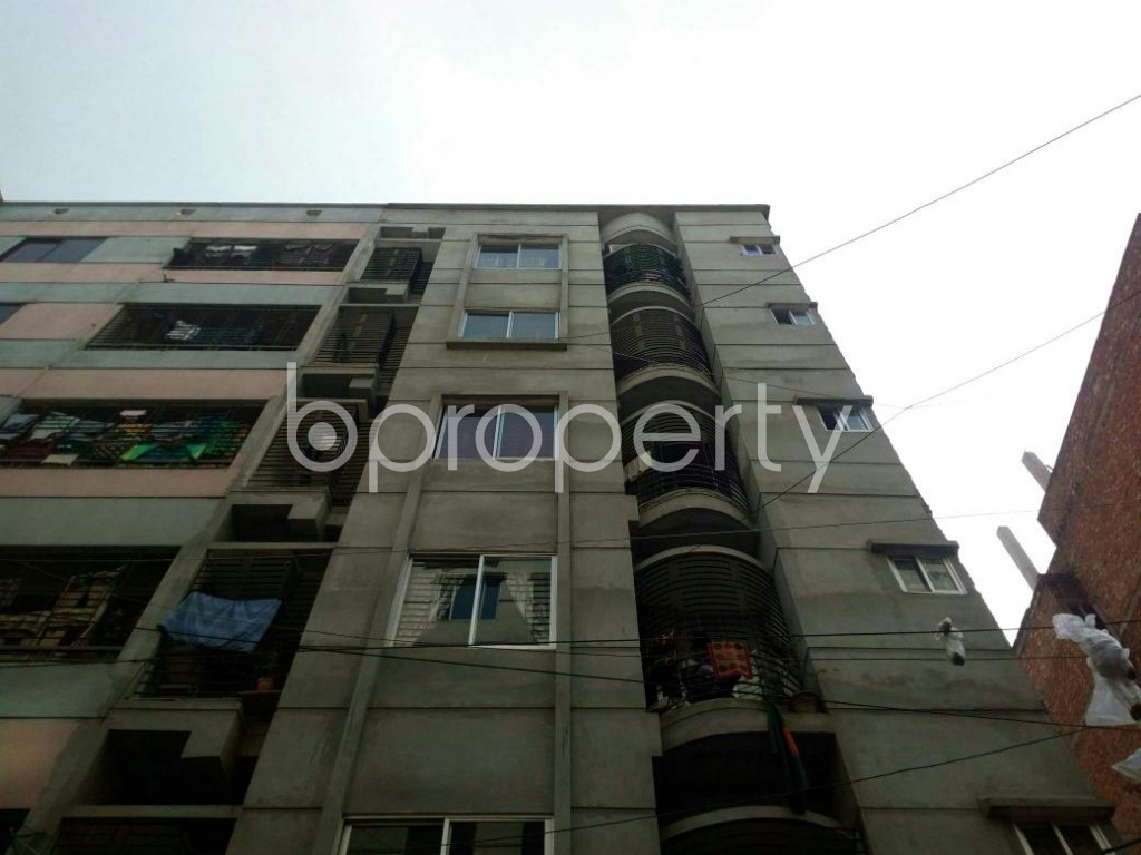 Front view - 4 Bed Apartment for Sale in Mirpur, Dhaka - 1856519