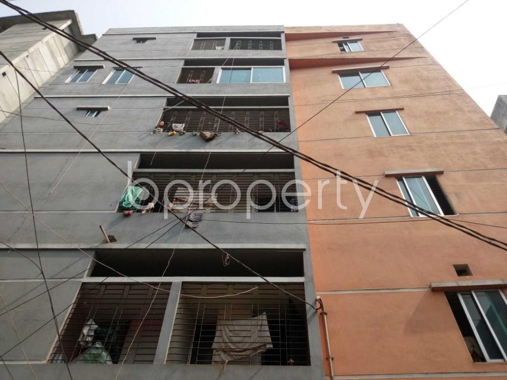 Front view - 2 Bed Apartment for Sale in Mirpur, Dhaka - 1856925