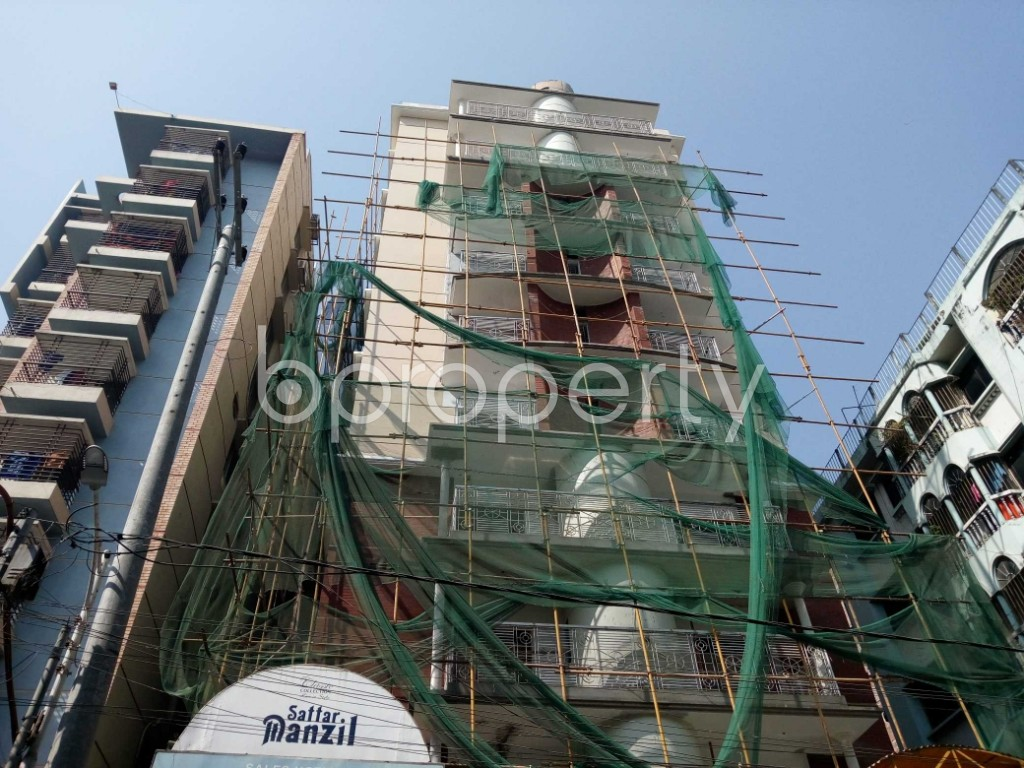 Front view - 3 Bed Apartment for Sale in Jamal Khan, Chattogram - 1857139