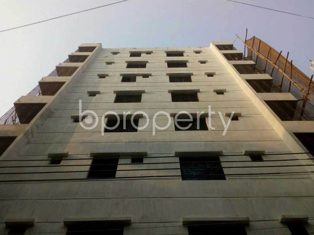Front view - 2 Bed Apartment for Sale in Mirpur, Dhaka - 1857412