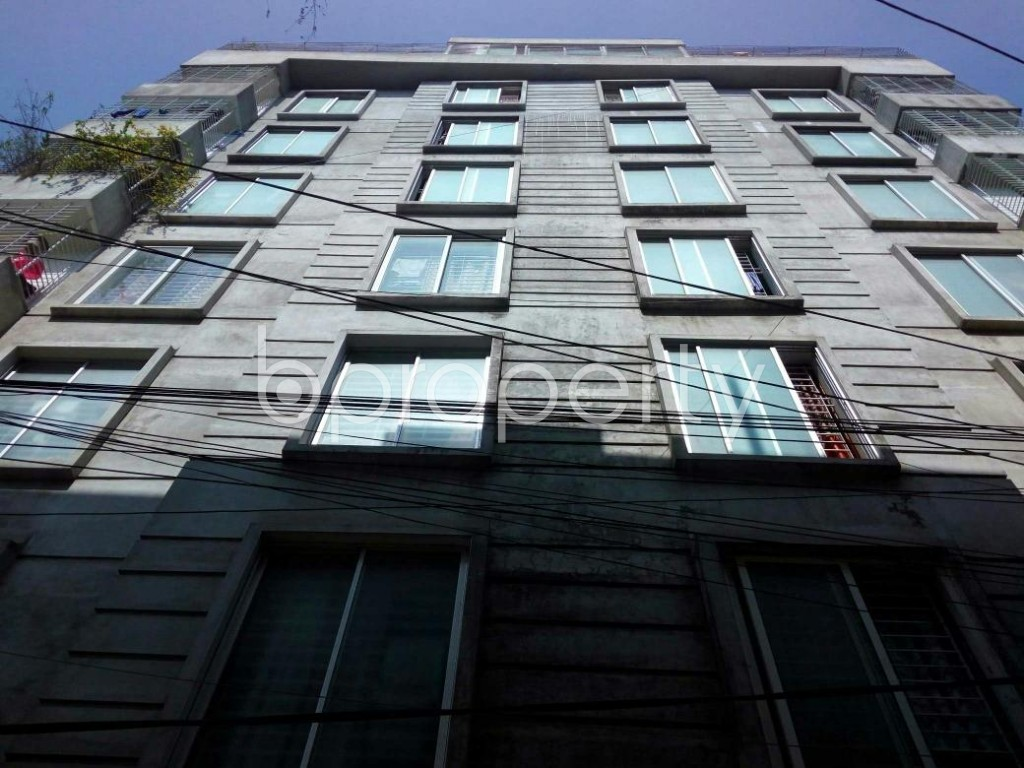 Front view - 3 Bed Apartment for Sale in Mirpur, Dhaka - 1857568
