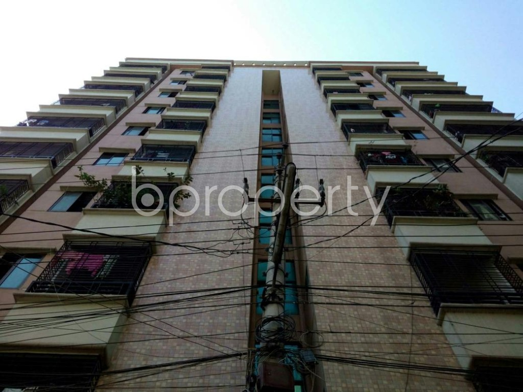 Front view - 3 Bed Apartment for Sale in Mirpur, Dhaka - 1857627
