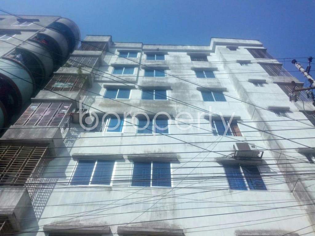 Front view - 3 Bed Apartment for Sale in Mirpur, Dhaka - 1857653