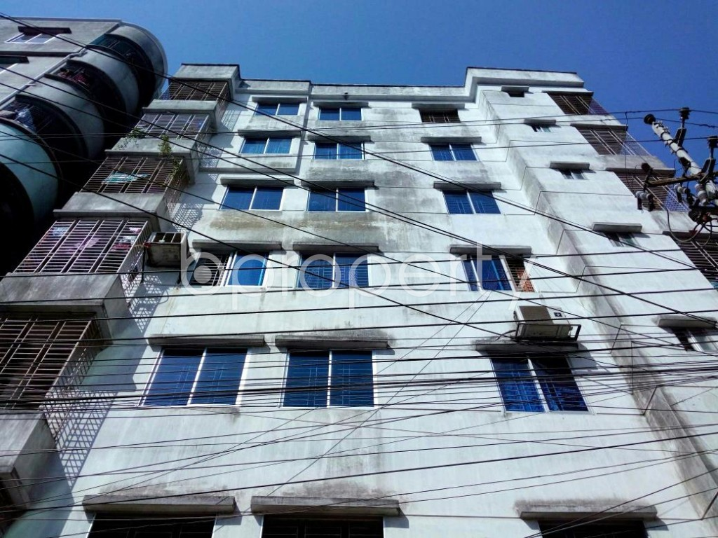 Front view - 3 Bed Apartment for Sale in Mirpur, Dhaka - 1857660