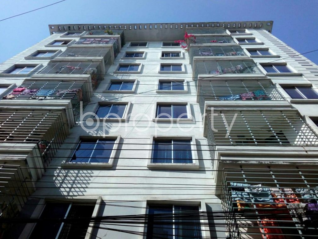 Front view - 3 Bed Apartment for Sale in Mirpur, Dhaka - 1857692