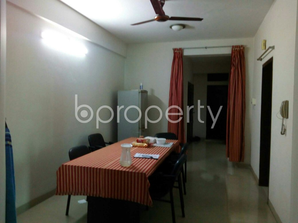 Dine/Dining - 3 Bed Apartment for Sale in Bashundhara R-A, Dhaka - 1857695