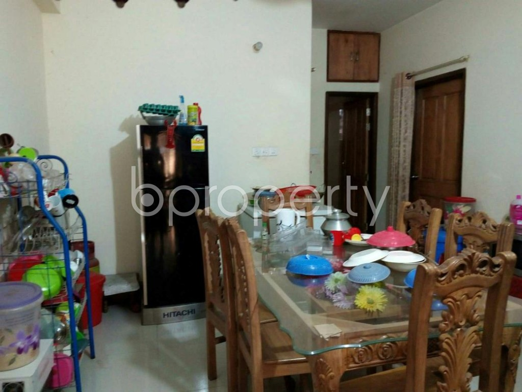 Dining area - 3 Bed Apartment to Rent in Mohammadpur, Dhaka - 1857740