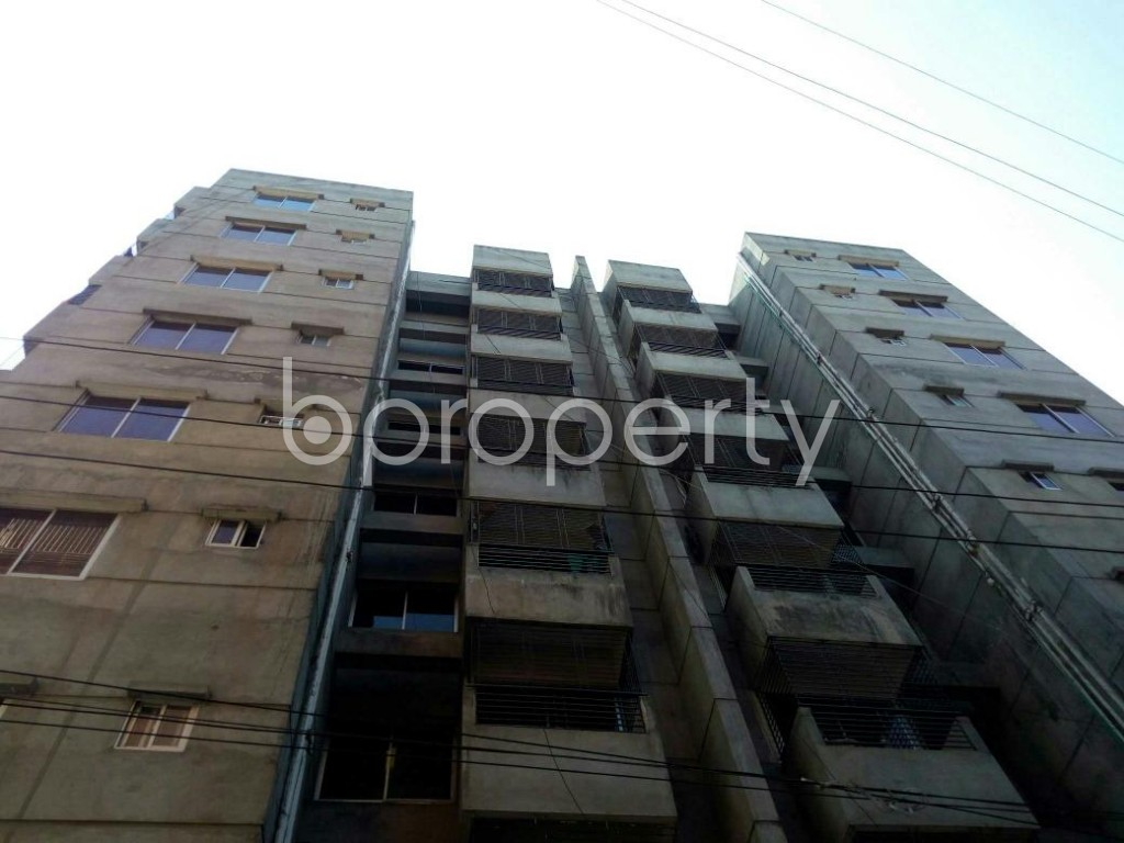 Outside view - 3 Bed Apartment for Sale in Cantonment, Dhaka - 1857934