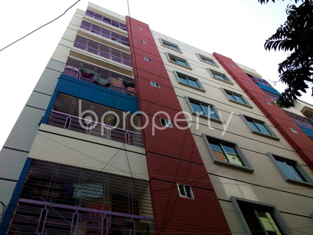 Outside view - 3 Bed Apartment to Rent in Mohammadpur, Dhaka - 1857986