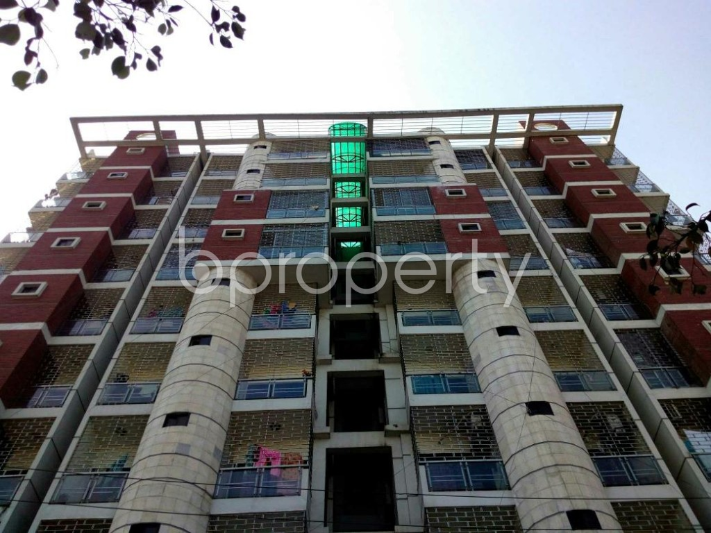 Front view - 3 Bed Apartment for Sale in Cantonment, Dhaka - 1858002