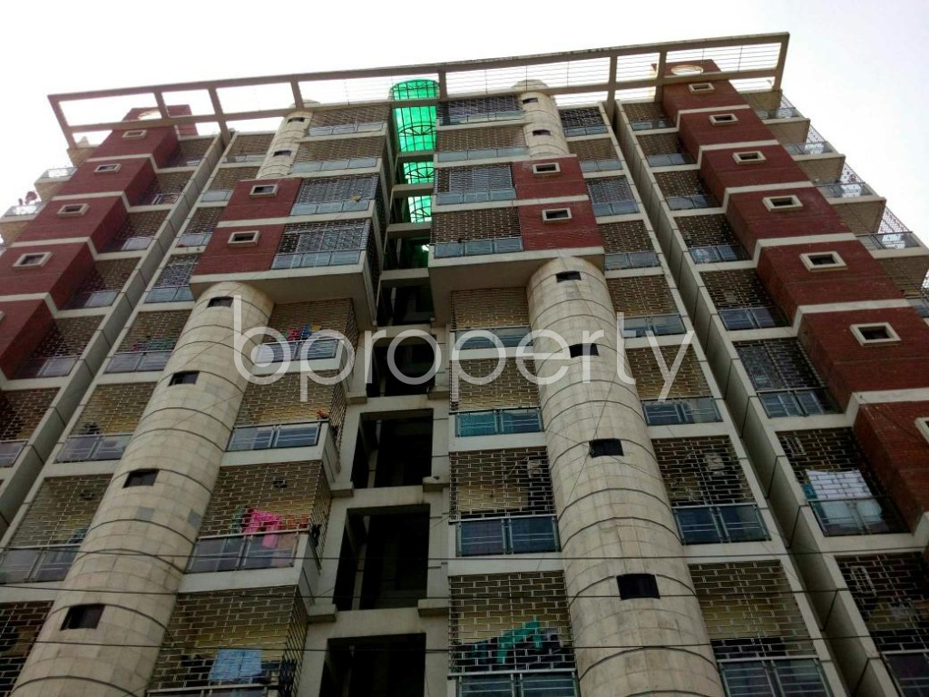 Front view - 3 Bed Apartment for Sale in Cantonment, Dhaka - 1858011