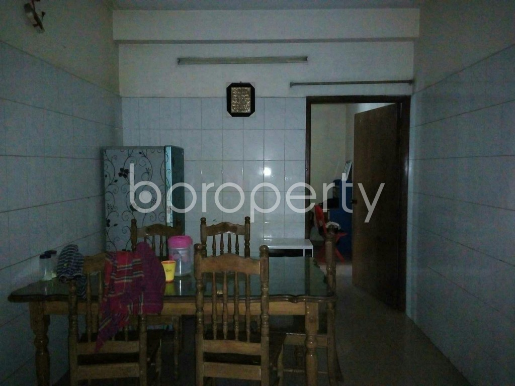 Dining area - 3 Bed Apartment to Rent in Mohammadpur, Dhaka - 1858014