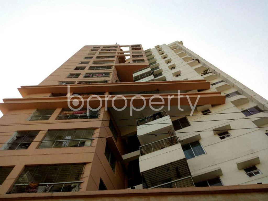 Front view - 3 Bed Apartment for Sale in Cantonment, Dhaka - 1858050