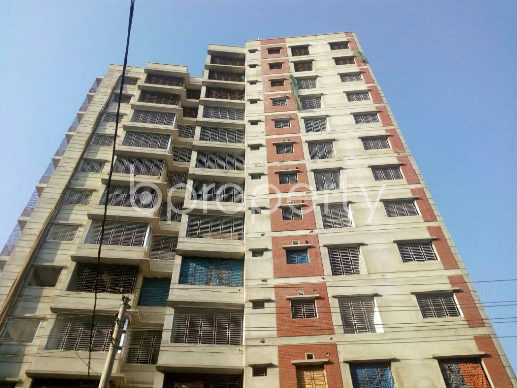 Front view - 4 Bed Apartment for Sale in Mirpur, Dhaka - 1858212