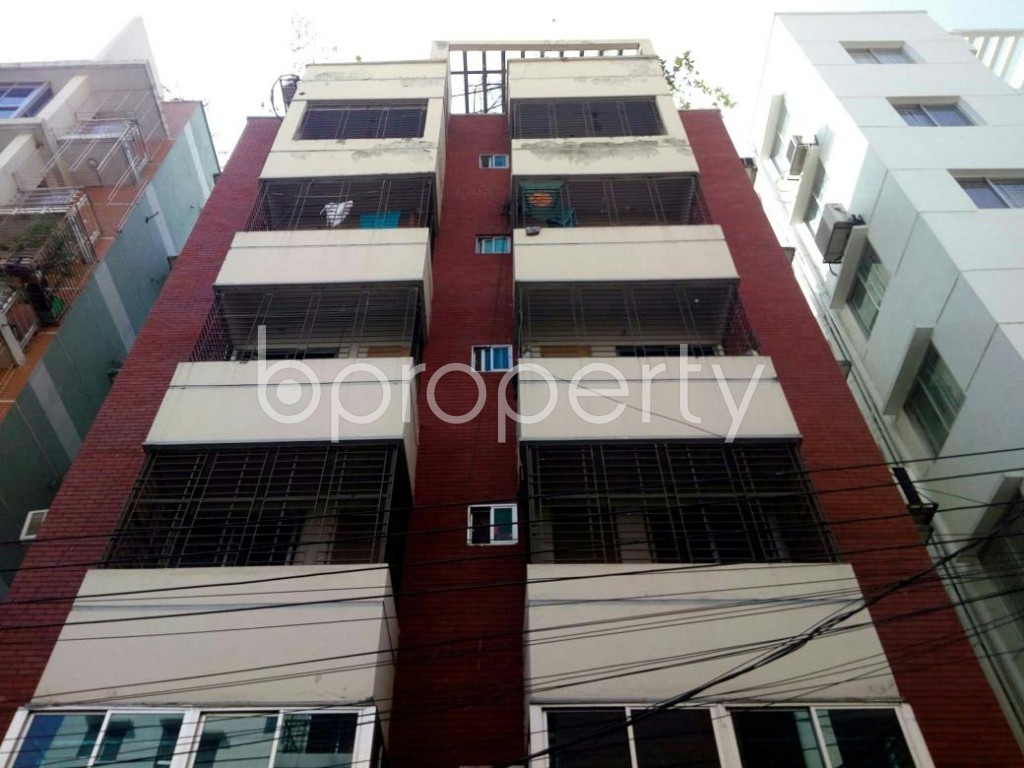Front view - 3 Bed Apartment for Sale in Bashundhara R-A, Dhaka - 1858340