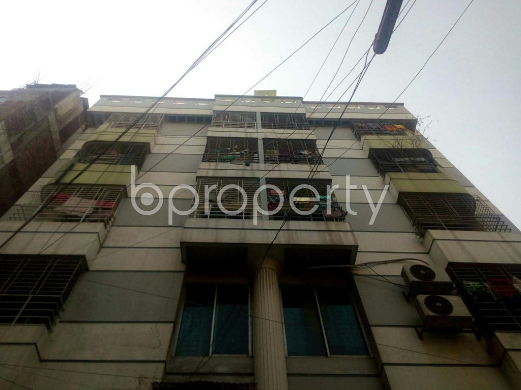 Front view - 4 Bed Apartment for Sale in Badda, Dhaka - 1858344