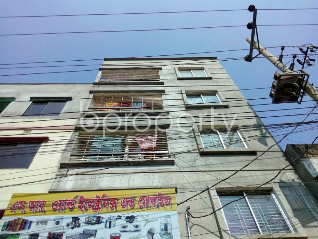 Front view - 2 Bed Apartment to Rent in Mirpur, Dhaka - 1858369