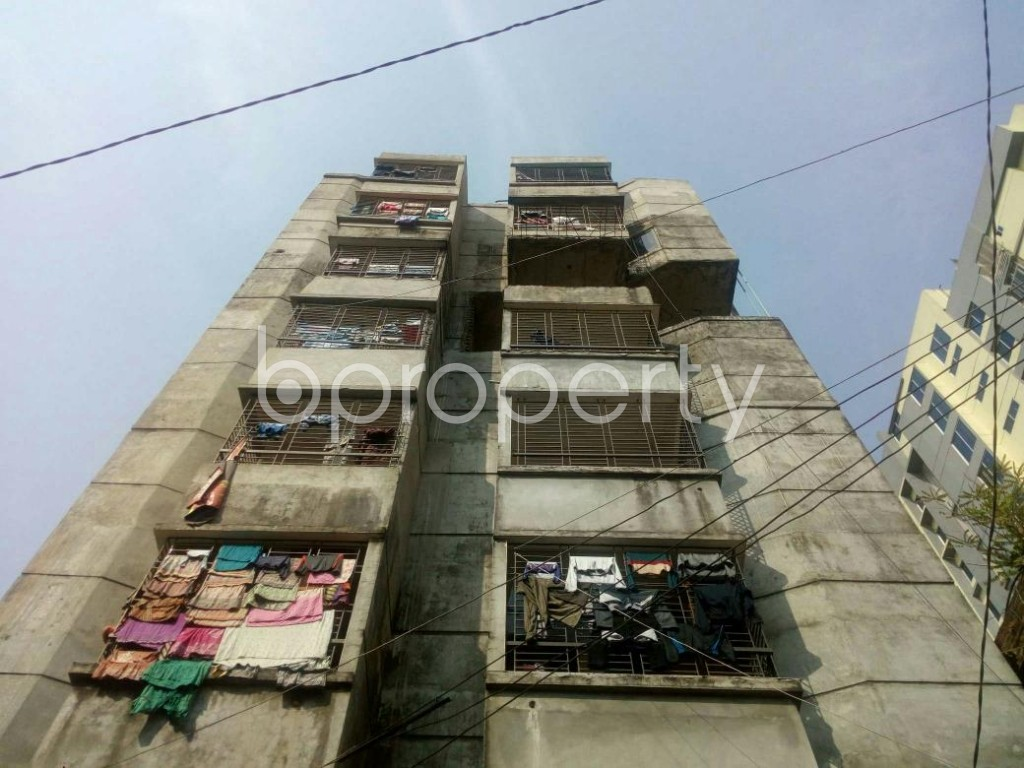 Front view - 3 Bed Apartment to Rent in Badda, Dhaka - 1858499