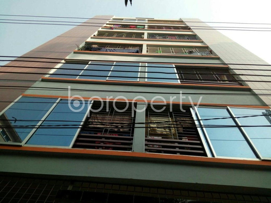 Front view - 2 Bed Apartment to Rent in Mirpur, Dhaka - 1858556