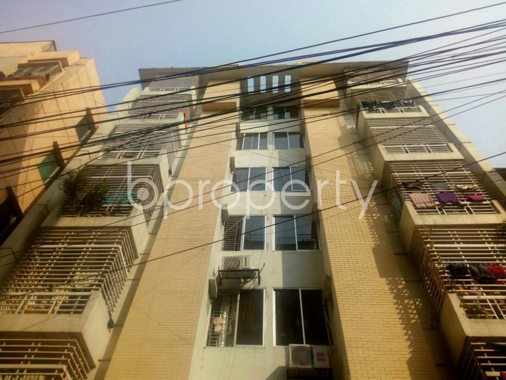 Front view - 3 Bed Apartment for Sale in Badda, Dhaka - 1858530