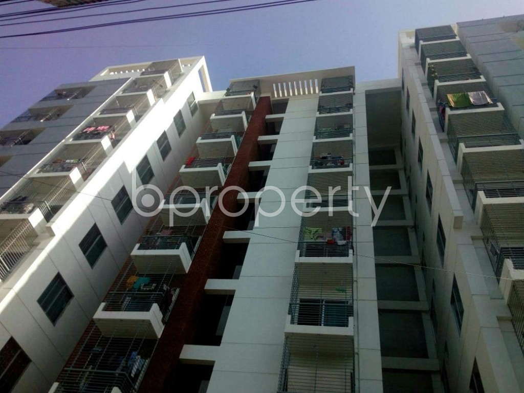 Front view - 3 Bed Apartment for Sale in 7 No. West Sholoshohor Ward, Chattogram - 1858719