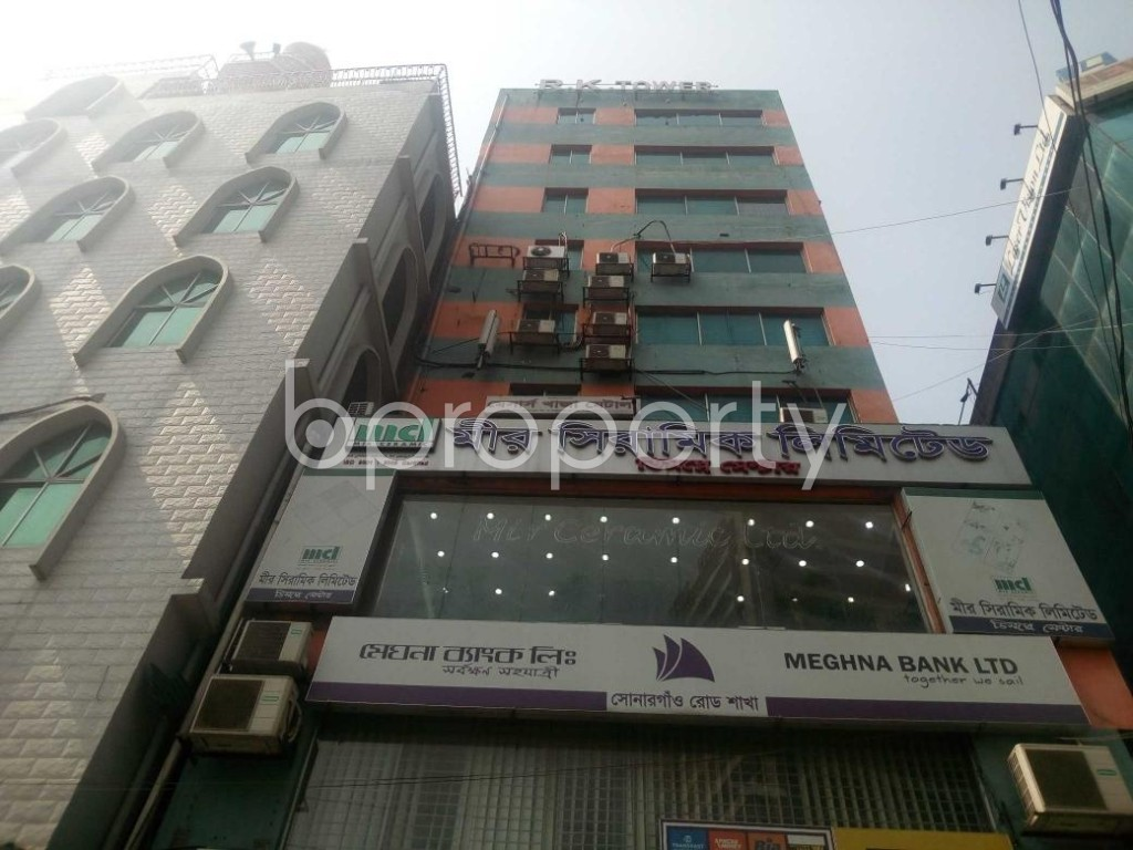 Front view - Office for Sale in Hatirpool, Dhaka - 1859302