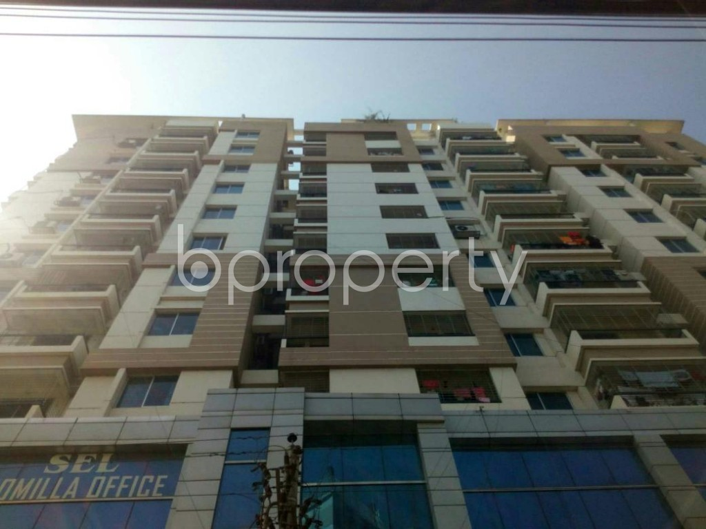 Front view - 3 Bed Apartment to Rent in Jhautola, Cumilla - 1859316