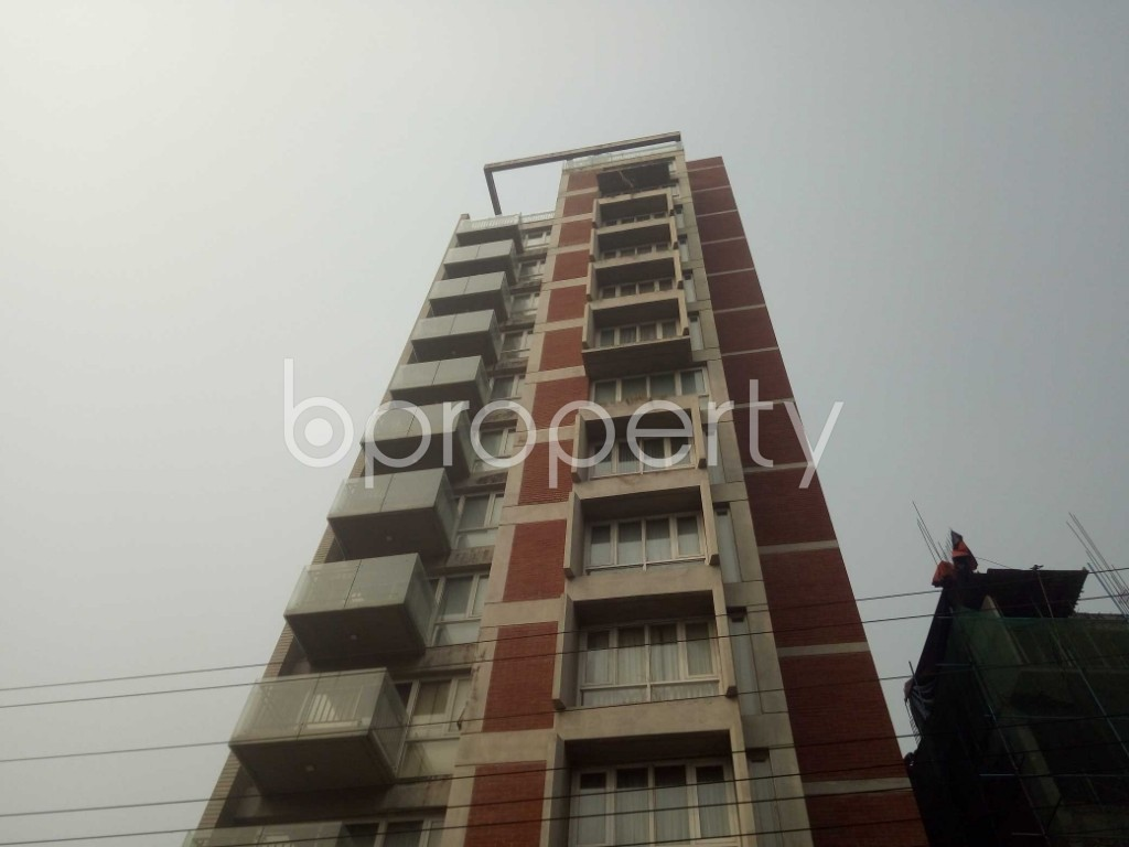 Front view - 4 Bed Apartment to Rent in Baridhara, Dhaka - 1860129