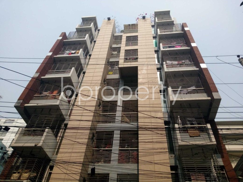 Front view - 3 Bed Apartment for Sale in Uttara, Dhaka - 1860707