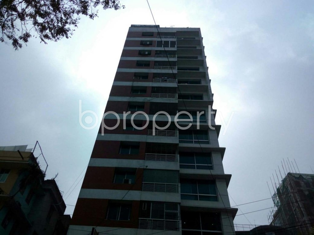 Front view - 4 Bed Apartment for Sale in Uttara, Dhaka - 1861057