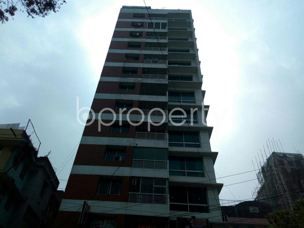 Front view - 4 Bed Apartment for Sale in Uttara, Dhaka - 1861058