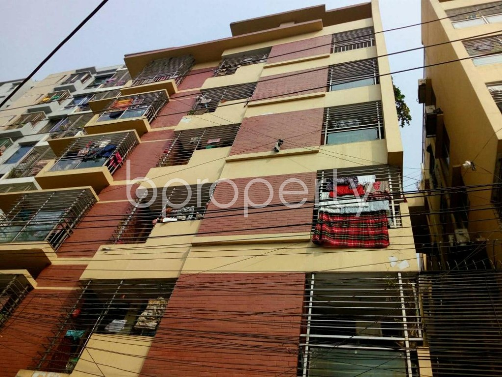 Front view - 3 Bed Apartment for Sale in Lal Khan Bazaar, Chattogram - 1861592
