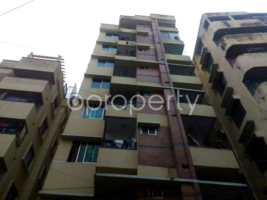 Front view - 3 Bed Apartment for Sale in Jatra Bari, Dhaka - 1862247