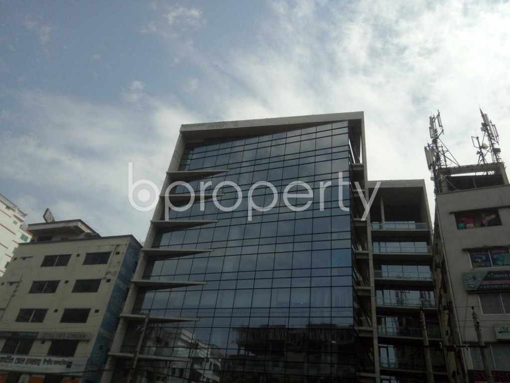 Front view - Office for Sale in Kuril , Dhaka - 1862468