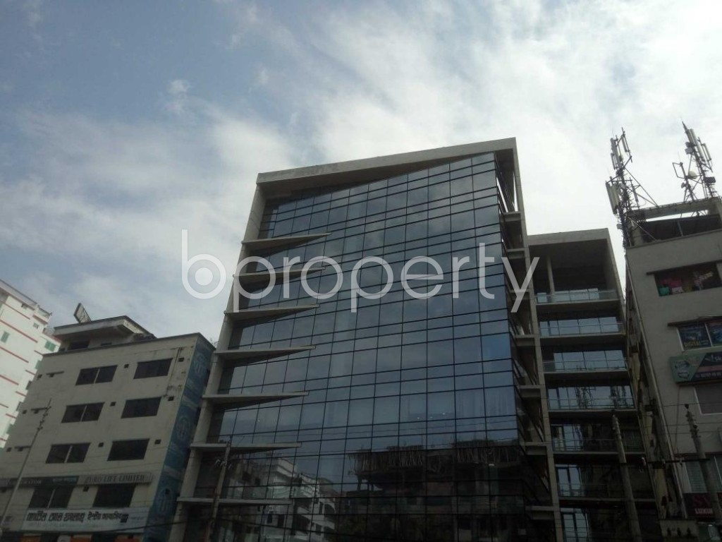 Front view - Office for Sale in Kuril , Dhaka - 1862469