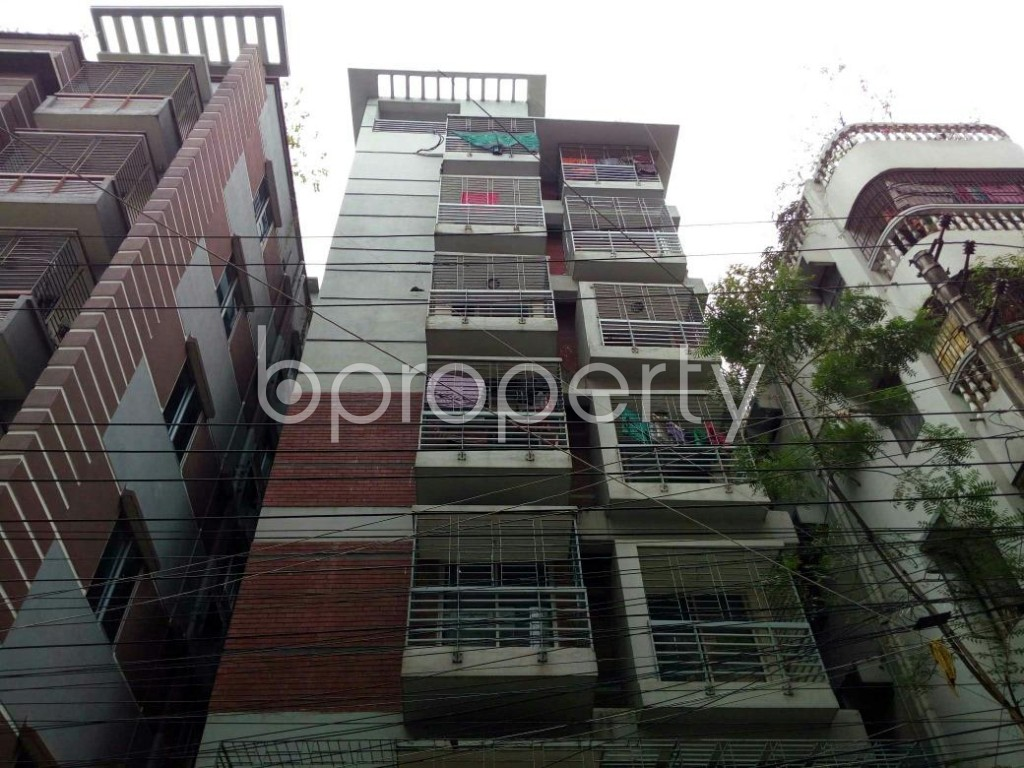 Front view - 3 Bed Apartment for Sale in Mohammadpur, Dhaka - 1862473