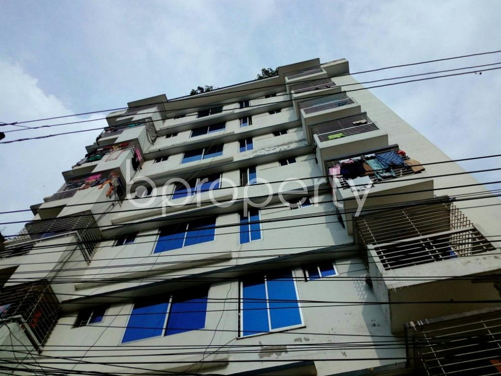 Outside view - 4 Bed Apartment for Sale in Cantonment, Dhaka - 1863302