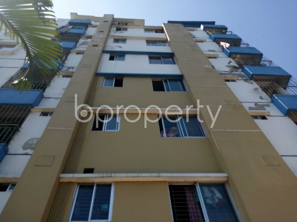 Front view - 3 Bed Apartment for Sale in Bakalia, Chattogram - 1863375