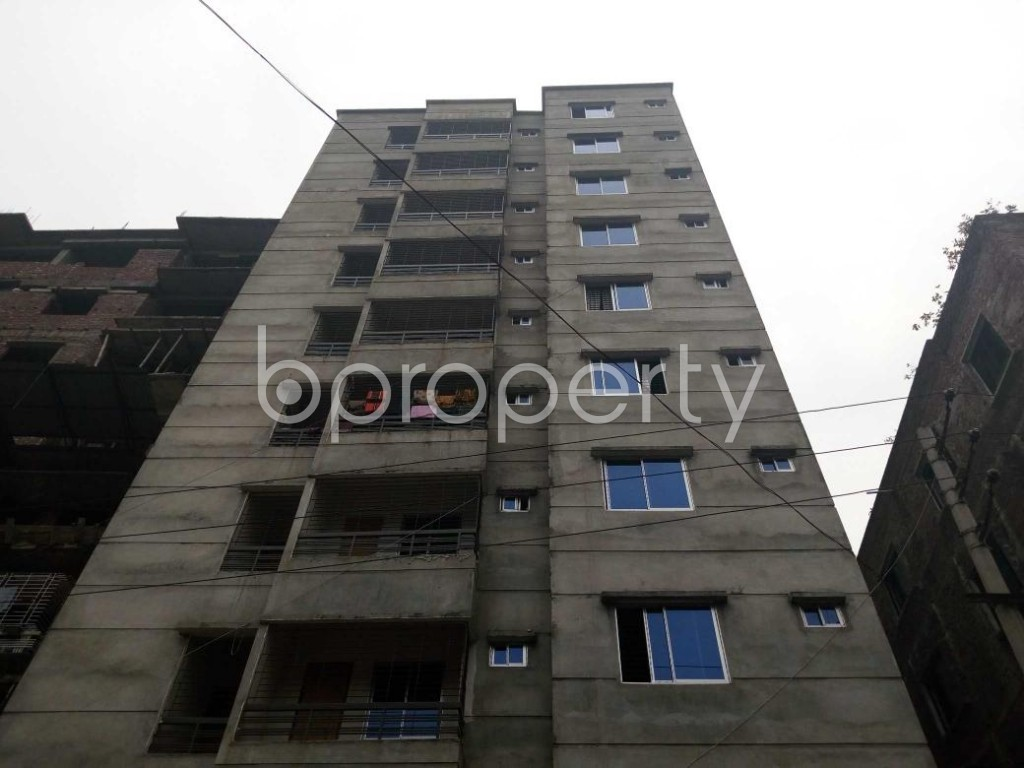 Front view - 2 Bed Apartment for Sale in Maniknagar, Dhaka - 1863948