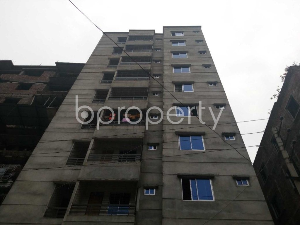 Front view - 2 Bed Apartment for Sale in Maniknagar, Dhaka - 1863949